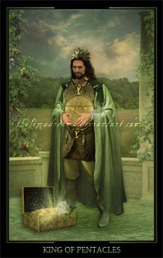 King Of Pentacles by ThelemaDreamsArt on DeviantArt