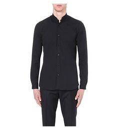 THE KOOPLES - Slim-fit stretch-cotton shirt | Selfridges.com