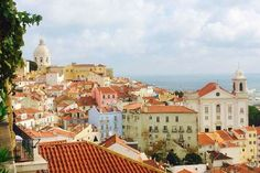 Lisbon from the Miradouro Santa Luzia. Image by Kerry Christiani / Lonely Planet