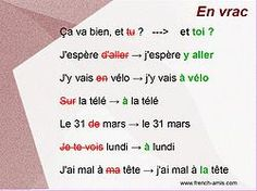 corrections in FR students explain WHY wrong?