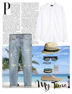 """""""SUMMER STYLE"""" by erminm ❤ liked on Polyvore featuring H&M and Tag"""