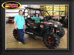 Thanks to Gary McLaughlin and Dana Ogle from Mobile AL for getting a 2017 Polaris RZR S 900. @HattiesburgCycles