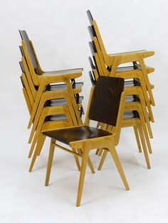 Plia Folding and Stacking Chair | Furniture | Pinterest | Stacking ...