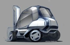 Petrolbrain's: Industrial Vehicle Concept