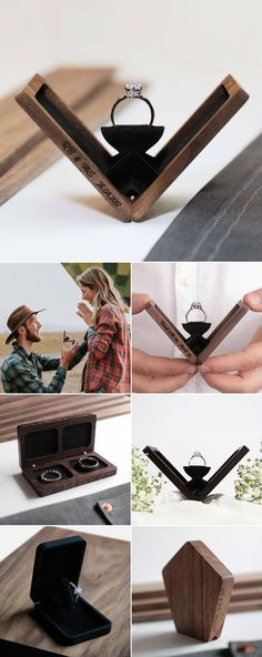 Wedding ring box, Engagement ring box proposals, Proposal ring box, Ring box, Engagement ring box, Proposal engagement - The perfect proposal must be wellplanned, and the engagement ring must be beaut -  #Weddingring #box
