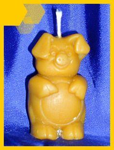 Z16 Prase - Svíčky ze včelího vosku