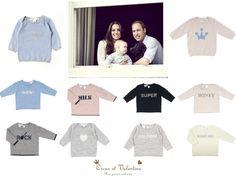 Adoptez le look de la famille royale ! Adopt the look of the royal family !  Voici une sélection de pulls pour que votre enfant soit comme le petit prince Georges !