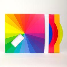Jamie XX in colour vinyl