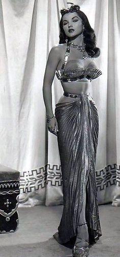 "Debra Paget in ""The Ten Commandments"" (1956). Yowza."