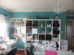 My scrap room - shelves - Scrapbook.com