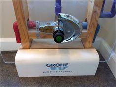 Grohe Branded Plumbing Inner-Workings – Fixtures Close Up Pvc Pipe, Industrial Chic, Shower Heads, Visual Merchandising, Plumbing, Faucet, Home Appliances, Retail, Bath