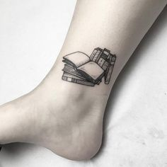 nice Tiny Tattoo Idea - 18 Book Tattoos For the Ultimate Reader...