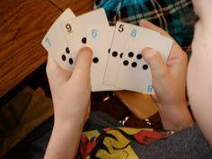 Lighting a Fire: Fast 10 Card Math Game