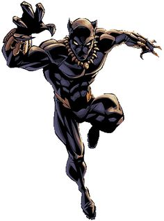 When Marvel Comics introduced the Black Panther in . Black Characters, Comic Book Characters, Comic Book Heroes, Marvel Characters, Comic Books, Black Panther Marvel, Black Panther Art, Marvel Dc, Marvel Heroes