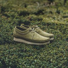 separation shoes 3892b c2f7f Clarks Weaver Low Releases in Forrest Green Suede - EU Kicks Sneaker  Magazine Clarks Originals