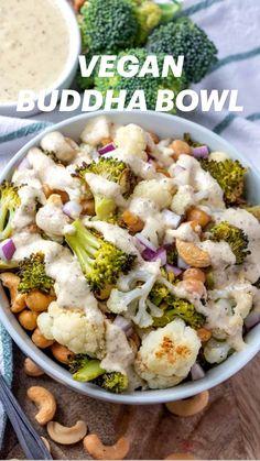 Vegetarian Recipes Dairy Free, Vegan Lunch Recipes, Vegan Meal Prep, Vegan Foods, Vegan Dinners, Raw Food Recipes, Veggie Recipes, Cooking Recipes, Healthy Recepies