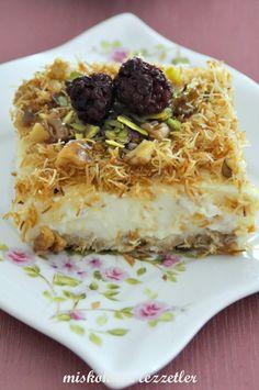 miskokulu lezzetler: Sakız Muhallebili Kadayıf
