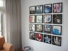 Collection of U2 record albums