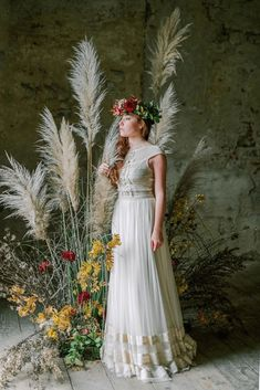 Rustic Vintage Bridal Inspiration in Tuscany Perfect for Fall Weddings – Antonis Prodromou – Villa Di Maiano 62 Fall Wedding Destinations, Destination Wedding, Vintage Bridal, Tuscany, Flower Girl Dresses, Wedding Inspiration, Wedding Dresses, Floral, Fashion