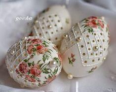 Vajíčka * madeira a decoupage