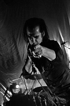 Nick Cave Performing with Grinderman