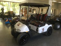 Custom Carolina Gamecocks Golf Cart!