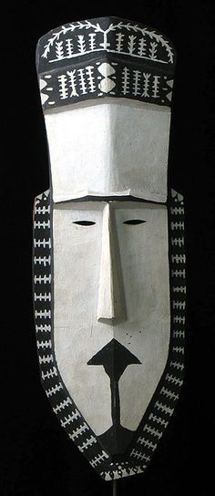 Masks from Around the World Oceania Rare Tribal Mask Mortlock Islands, Federal States of Micronesia