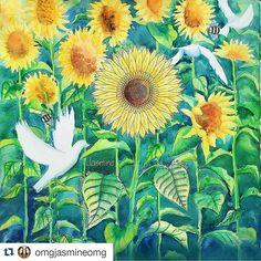 Instagram media desenhoscolorir - Que perfeição esse campo de girassóis! #Repost @omgjasmineomg with @repostapp ・・・#desenhoscolorir  #秘密花园 #jardinsecret #johannabasford #coloring_secrets #JardimSecretoTop #jardimsecreto #secretgarden #secretgarden #coloring #secretgardenbook  #sunflowers