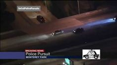 California High Speed Police Chase Stolen Truck LASD Helicopter (KCAL)