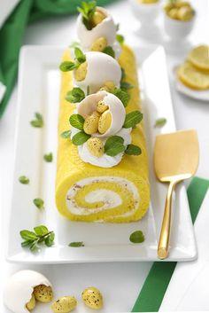 Unique Thanksgiving Desserts, Limoncello Cake, Sugar Dough, Cake Roll Recipes, Candied Almonds, Almond Cakes, Easter Recipes, Delicious Desserts, Lemon Desserts