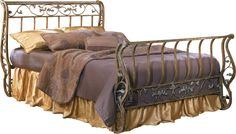 I Love This Whimsical Look Ashley Furniture Bittersweet Series Rod Iron BedsIron Bed FramesBeds