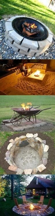 47 Incredible DIY Fire Pit Design Ideas ....