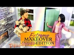 DIY - How to Make: Extreme Makeover Dollhouse Edition Reuse Old Crafts Barbie Stuff, Barbie Dolls, Doll Stuff, My Froggy Stuff Videos, Myfroggystuff, Barbie Doll Accessories, Extreme Makeover, Barbie Dream, Barbie Furniture