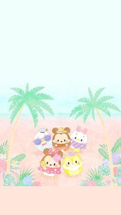 Disney Tsum Tsum Tsum Tsum Wallpaper, Mickey Mouse Wallpaper, Disney Phone Wallpaper, Kawaii Wallpaper, Wallpaper Iphone Cute, Cartoon Wallpaper, Cute Wallpapers, Fundo Tsum Tsum, Disney Drawings