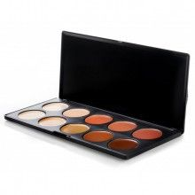 10 Color Camouflage and Concealer Palette. I love this stuff and won't use any other. Perfect blend of colors to match your skin tone for those pesky little imperfections ~fc.