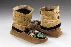 ojibwe moccasins  | Leech Lake Ojibwe - Meet the People