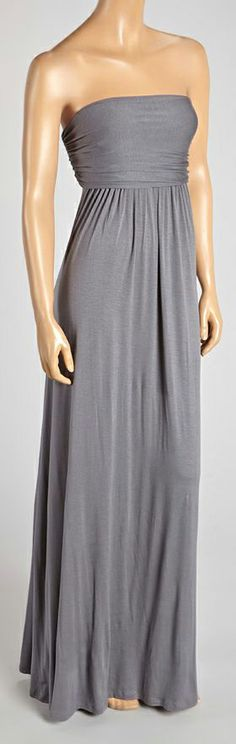 Grey Maxi Dress - lots of other colors, too!