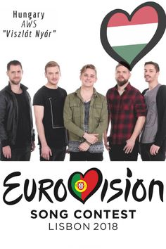 EUROVISION SONG CONTEST 2018: HUNGARY - 'Viszlát Nyár' By AWS Music Stuff, Pop Music, Indie, Songs, Funny, Portugal, Collections, Club, Board