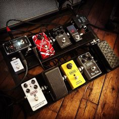 Current board for Dunlop artist Pedalboard, Cry Baby, Rigs, Guitar, Boards, Artists, Instagram Posts, Musica