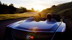 At Pebble Beach Cadillac has unveiled the Ciel Concept, a luxury four-seat convertible inspired by the brand's heritage and the coasts of California. Cadillac, Vw Eos, Pebble Beach Concours, Rear Wheel Drive, California Coast, Concept Cars, Touring, Cool Cars, Convertible