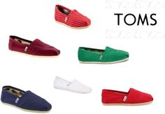 These Toms shoes are fashionable and pretty.