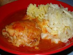 Cristina's world: Ostropel de pui Romanian Food, Grilling, Favorite Recipes, Foods, Drink, Meat, Chicken, Live, Fashion