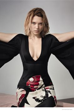 Léa Seydoux for AnOther Magazine's spring-summer 2015 issue. Photographed by Collier Schorr