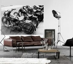 Cool photographs by Matt Dougan for the walls of you man Cave, garage, bar your home wherever you like.