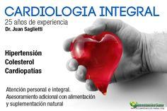 Cardiología integral. Dr. Juan Saglietti cardiologia@alimentacion-sana.org