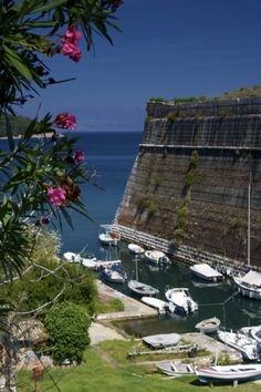 The old fortress in Corfu Town, Corfu Island, Ionian Sea, Greece Vacation Places, Vacation Spots, Vacations, Corfu Town, Corfu Island, Corfu Greece, Local Tour, Greece Islands, Beautiful Places To Travel
