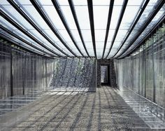 Marquee for les Cols Restaurant by RCR Arquitectes