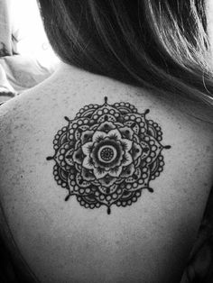 My Lotus Mandala Done At Good Faith Tattoo In Brookline MA By...