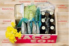 taco box. deliciously handy.