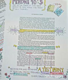Book of Mormon Journaling
